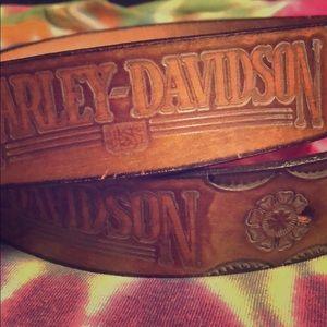 """Harley-Davidson Vintage Belt 32"""""""